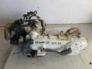 Motore Blocco Completo Motori Piaggio Hexagon 125 1999 2001 4T ET4 Engine Motor