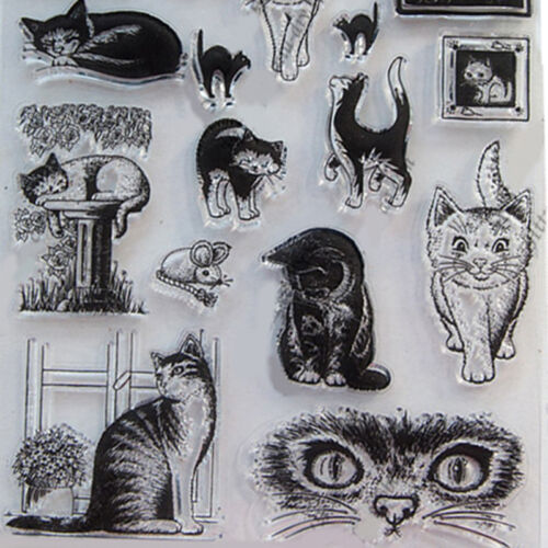 Cat Scrapbooking Cutting Die Stencil DIY Album Card Paper Embossing Craft.TOP