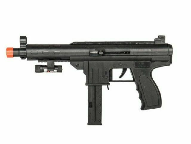 Unopened Uk Arms P2399 Spring Powered Airsoft Bb Gun Smg Pistol Black For Sale Online Ebay