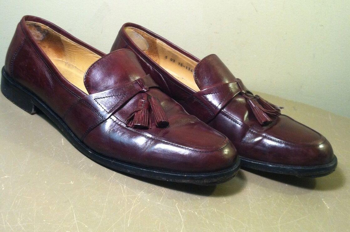 negozio online outlet Johnston & Murphy Burgundy Marrone Tassel Tassel Tassel Loafers Dress scarpe Slip On Dimensione 11.5 M  shopping online e negozio di moda