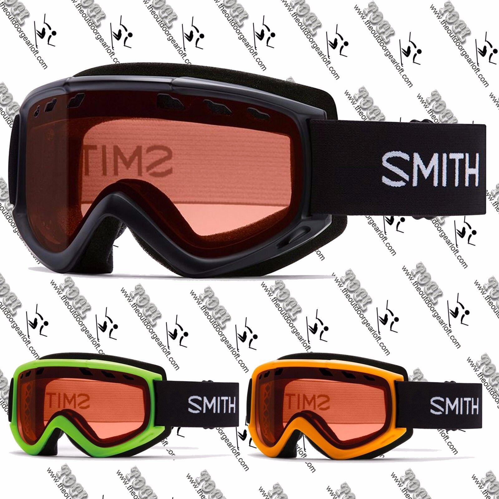 SMITH OPTICS MEN'S WOMEN'S UNISEX CASCADE SKI SNOW SNOWMOBILE SNOWBOARD GOGGLE