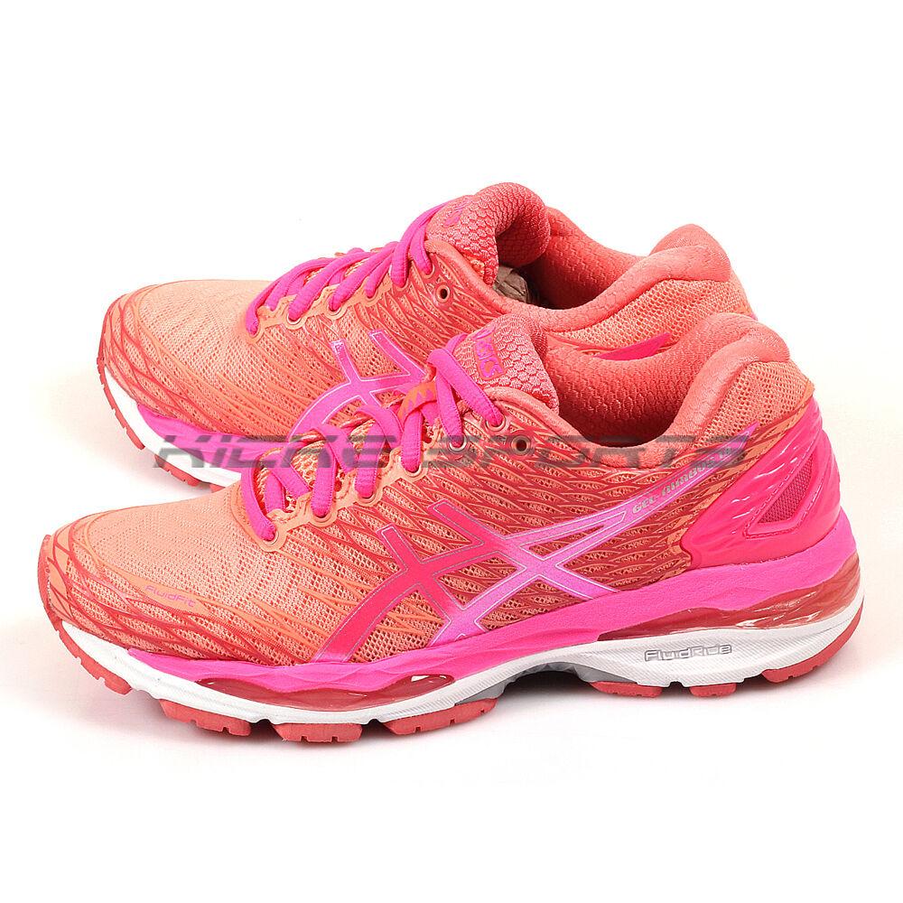 asics des gel nimbus 18 formation des asics chaussures de course peach melba / rose / goyave t650n-7620 super discount 542f54