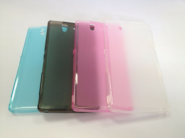 TPU Gel Soft Jelly Case Phone Cover For Sony Xperia Z L36h C6603