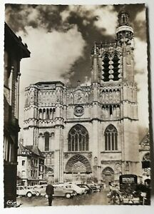 756-Ancienne-Carte-Postale-Sens-Yonne-la-cathedrale