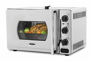 Wolfgang Puck Pressure 29-Liter Stainless Steel Oven