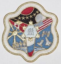 Aufnäher Patch Raumfahrt ISS Expedition 21 ..............A3193