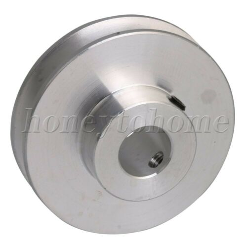 Metal 10mm Dia Bore V Groove Drive Belt Step Pulley for 3-5mm Round Belt