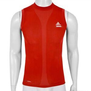 Adidas Techfit SL Herren Kompression Shirt Tank Top Muskel