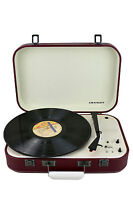 Crosley Coupe Portable Turntable - Cabernet