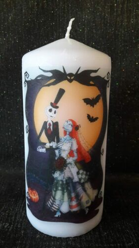 nightmare before christmas  candle