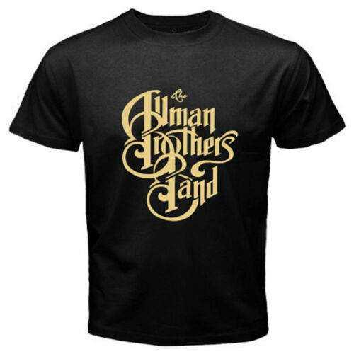 New THE ALLMAN BROTHERS Band Rock Blues Icon Men/'s Black T-Shirt Size S-3XL