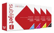 NEW RICOH Sawgrass Sublijet HD Virtuoso SG800 Sublimation Ink Set