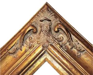 5-5-034-WIDE-Gold-Black-Ornate-Antique-Oil-Painting-Wood-Picture-Frame-620AG-30x40
