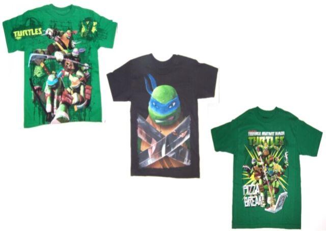 Teenage mutant ninja turtles homme blanc custom made t-shirt