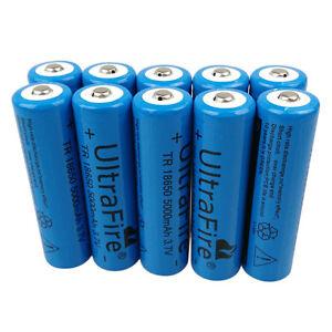 1-2-4-6-10pcs-18650-Batterie-5000mAh-3-7V-Li-ion-rechargeable-Battery-Flashlight