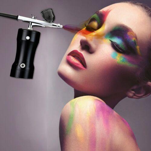 Rechargeable Portable Dual Action Airbrush Kit Makeup Art Nail Cake Tattoo Machi