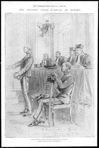 1899-Antique-Print-FRANCE-Rennes-Dreyfus-Court-Martial-Captain-343