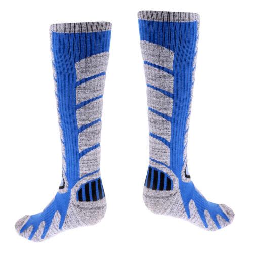 Men Outdoor Winter Thermal Sport Long Socks for Snowboarding Skiing Hiking