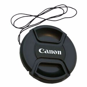 77mm-Snap-On-Front-Lens-Cap-Cover-Center-Pinch-with-String-for-Canon-EOS-Camera