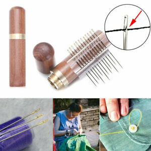 Metal-Pin-Self-tapping-Sewing-Needles-Darning-Needle-Blind-Person-Side-Opening