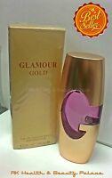 Glamour Gold 3.3 Oz Eau De Parfum Version Of Designer Guess, With Pouch