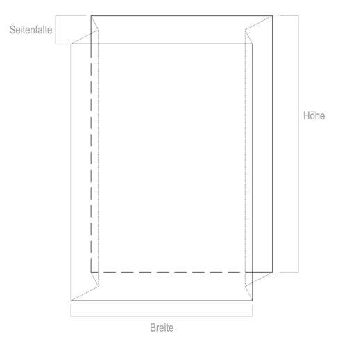 5 Absaugsack Spänesack Plastiksack Umfang ca 2,5m 700x550x1500 mm 60my stark