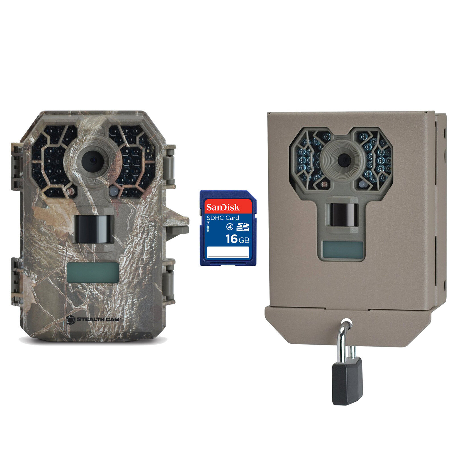 Stealth Cam 10MP  HD No Glow Hunting Scouting Game Trail Camera + Case + SD Card  welcome to order