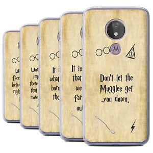 Gel-TPU-Case-for-Motorola-Moto-G7-Power-School-Of-Magic-Film-Quotes