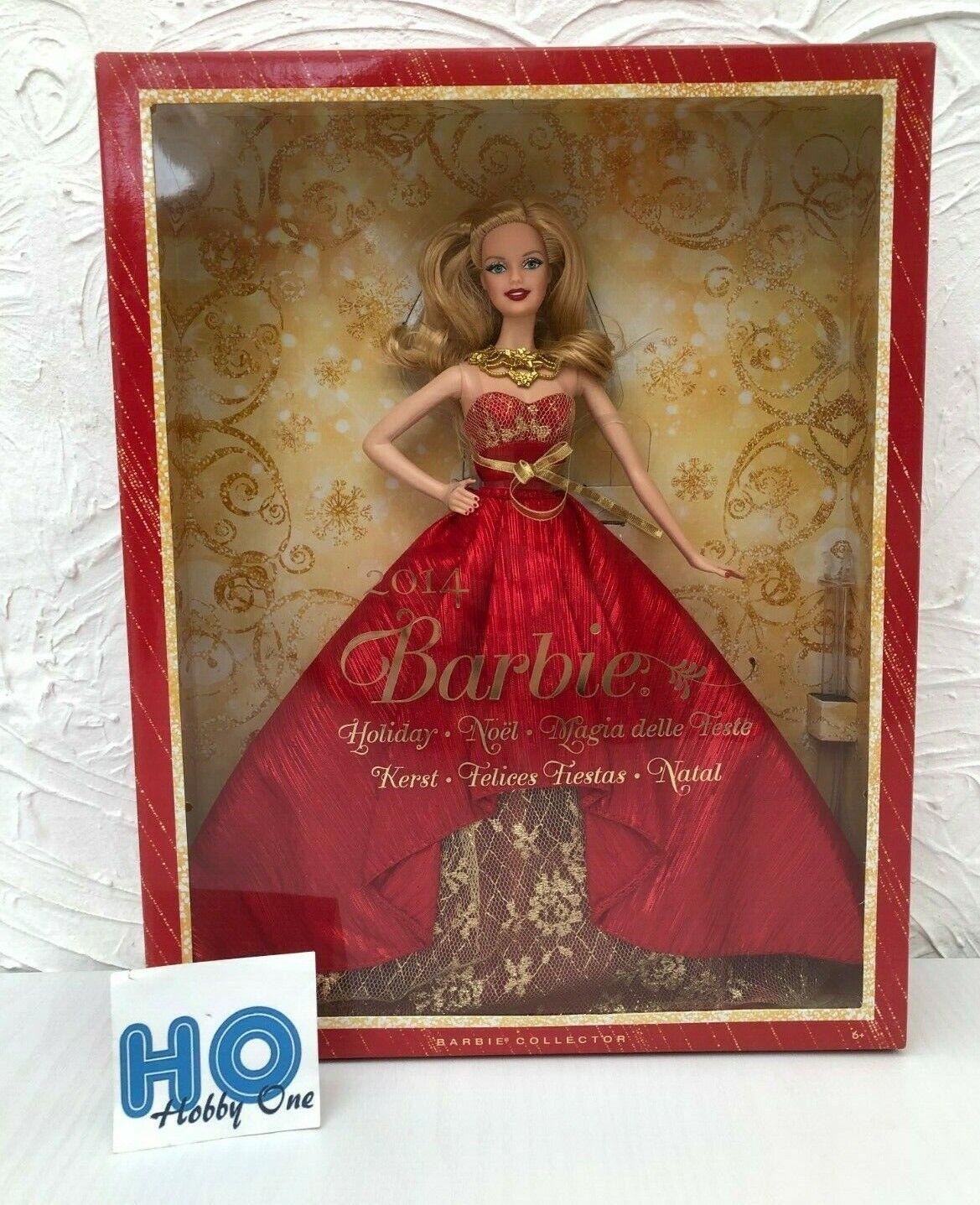 Bambola - Mattel - Barbie collezionista - Holliday    Noël - 2014 - BDH13 - NEUVE  moda