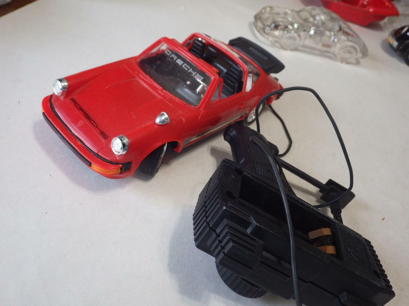 New Bright (Hong Kong) Red Porsche 930 Targa Plastic Electric 1 20