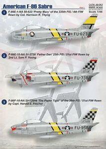 Druck-Massstab-1-48-North-American-F-86e-Sabre-Teil-1-48063