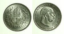 pcc1211_2)  1 CORONA 1915 Franz Josef Vienna Austria