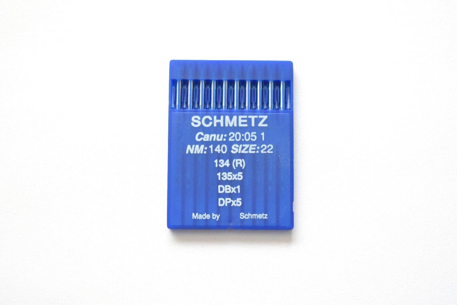 SCHMETZ PFX134LR 135X8 RTW 134LR NM:120SIZE:19 INDUSTRIAL SEWING MACHINE NEEDLES
