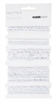 KC - White Lace Rrp$6.50Now 30%OFF!!