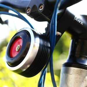 Electric Bike Horn USB Rechargeable Bicycle Bell 1300 MAh with Alarm Loud S T6M7
