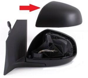 Genuine NISSAN PIXO Wing Mirror COVER CAP PASSENGER SIDE Black 84728M68K10-5PK
