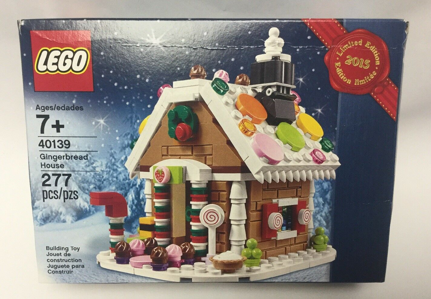New LEGO 40139 Gingerbread House 2015 Limited Edition