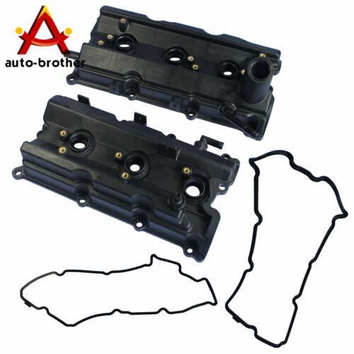 Engine Valve Covers Left /& Right For Nissan 2003-2006 350Z //03-06 G35 V6 3.5L
