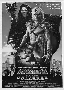 A4 A3 A2 He Man And The Masters Of The Universe Vintage Movie Poster A1