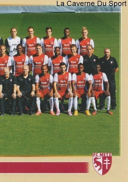 243 EQUIPE TEAM 2/2 # FC.METZ STICKER PANINI FOOT 2015