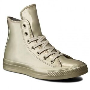 8d558ab3aebdf3 Converse Chuck Taylor All Star Metallic Rubber HI Womens Shoes Light ...
