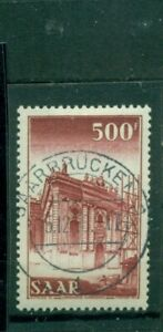 Saarland-Ludwigskirche-Saarbruecken-Nr-337-gestempelt