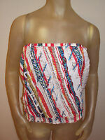 Poetry Strapless Shirt Top Juniors Large L