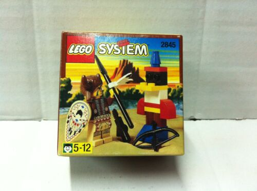 Lego West 2845 CAPO INDIANO MIB 1997