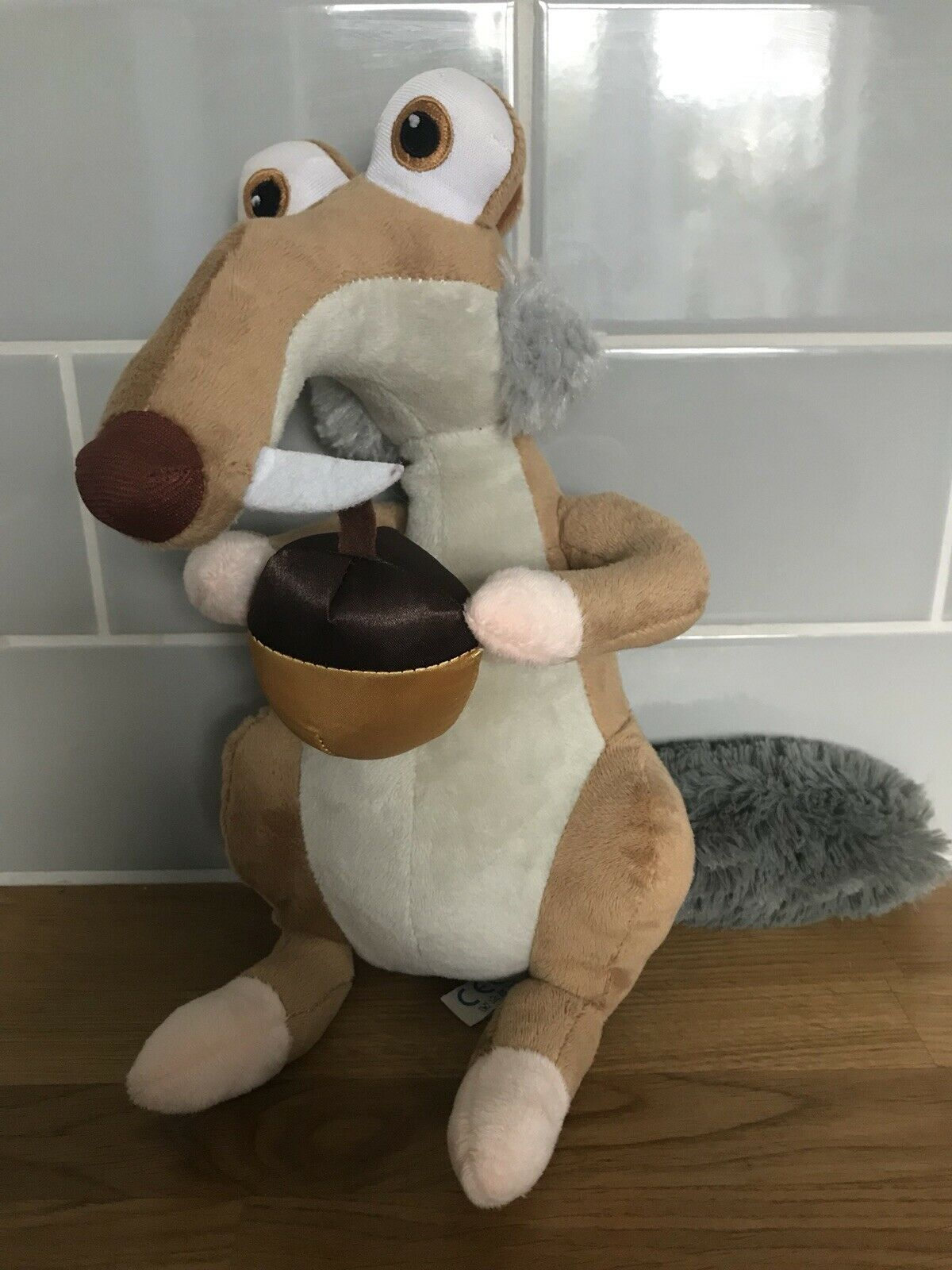 2015 PLAY BY PLAY Ice Age 5 Collision Course - LARGE Scrat Soft Plush Toy