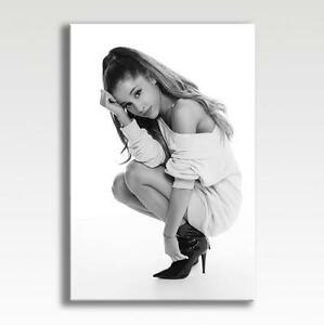 Large Wall Art Canvas Print of Ariana Grande Framed