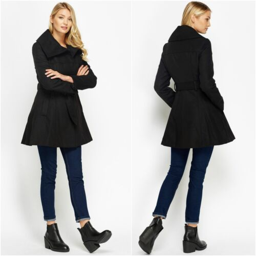 d'hiver Beige veste Collier Trench femmes 42 crème collier simple XL pour poche Popper boutonnage Kashmir C manteau 14 tAtfwq6