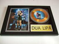 DUA LIPA  SIGNED GOLD CD