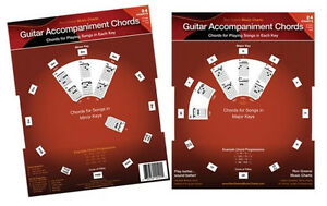 Original Guitar Accompaniment Chords Hand-Held Dial Shows All Guitar Chops!