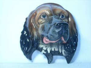 """1938-1960 Beswick RED SETTER Wall Plaque 668 11"""" High 10.4"""" Wide Mr Symcox"""